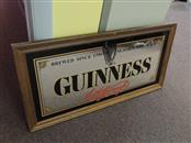 "Guinness ""Brewed since 1759"" Bar Mirror Framed  31X16"
